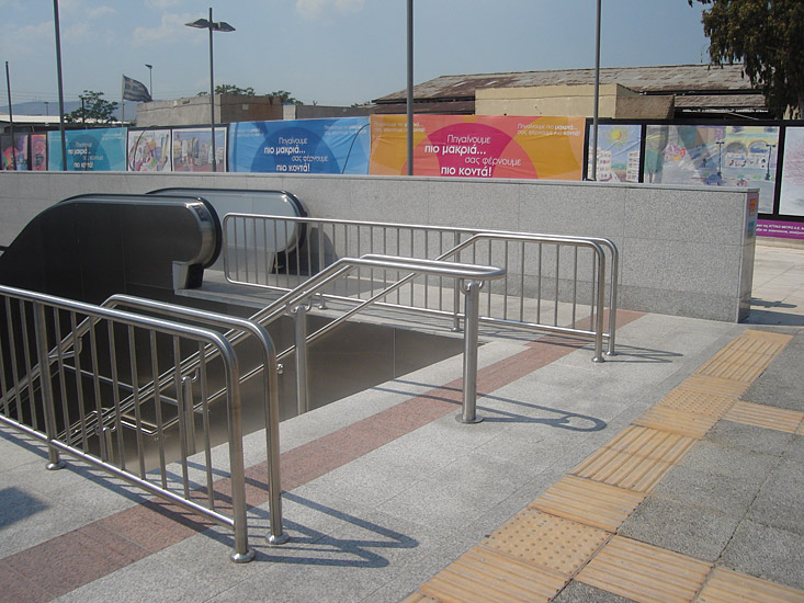 Projects | Transportation | Metro Station Elaionas in Athens ...